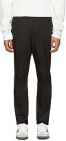 Tiger of Sweden Black Euan Trousers