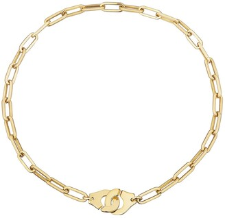 Dinh Van Menottes R15 Yellow Gold Necklace