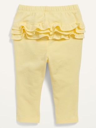 Old Navy Solid Ruffle-Trim Leggings for Baby