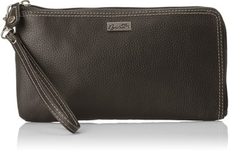 Buxton Westcott RFID L-Zip Expandable with Removable Strap Wallet