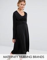 Mama Licious Mama.licious Mamalicious Nursing Slinky Dress