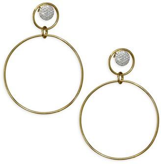 Phillips House Diamond & 14K Yellow White Gold Earrings