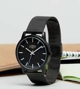 Limit Mesh Watch In Black Exclusive To ASOS