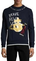 Vivienne Westwood Logo Printed Crewneck Sweatshirt