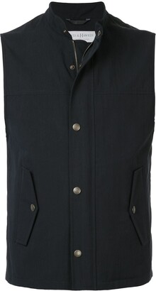 Gieves & Hawkes Zipped Gilet