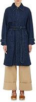TOMORROWLAND Women's Denim Belted Trench Coat