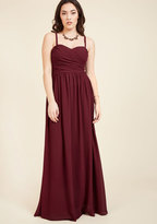 Don Your Honor Maxi Dress in M