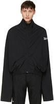 Vetements Black Reebok Edition Chav Track Jacket