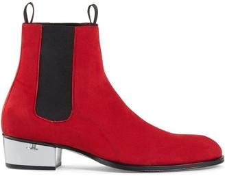 Giuseppe Zanotti Abbey plexy heel boots