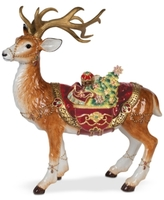 Fitz & Floyd Renaissance Holiday Deer Figurine