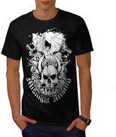 Skull Cool Death Fantasy Skull Head Men XXXL T-shirt   Wellcoda