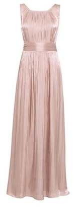 Dorothy Perkins Womens Showcase Bridesmaid Rose Gold Shimmer 'Natalie' Maxi Dress, Rose Gold