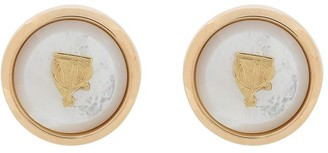 Lanvin Mother and Child t-bar cufflinks