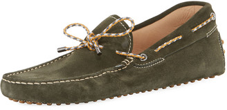 Tod's Gommini With Scooby Tie