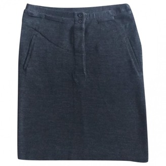 Isabel Marant Anthracite Wool Skirt for Women