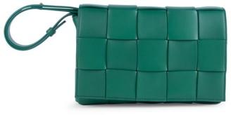 Bottega Veneta Cassette Leather Crossbody Bag