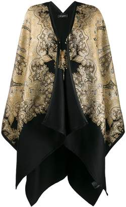 Etro paisley embroidered cape