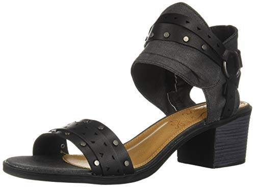 3652faee8a514 Women's Hey Now Casual Chop Out Block Heel Sandal