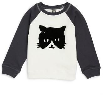 Bonton Cat Graphic Shirt (4-12 Years)