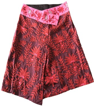 Isabel Marant Red Cotton Skirt for Women