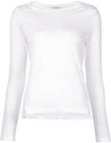 Frame Long Sleeve Tee - White