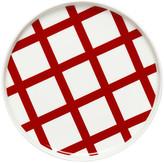 Marimekko Spalje Plate - 20cm - Red/White