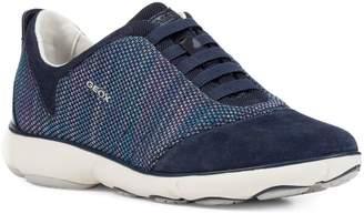Geox Womens D Nebula Slip-On Sneakers