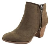 Style&Co. Style & Co. Womens Jamila Leather Almond Toe Ankle Fashion Boots.
