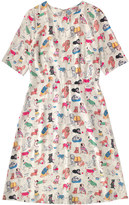 Cath Kidston Dogs Viscose Twill Dress