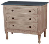 Slate Top Chest of Drawers