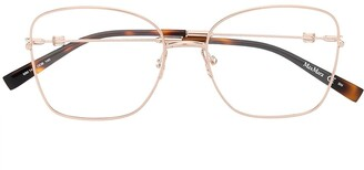 Max Mara Square-Frame Glasses