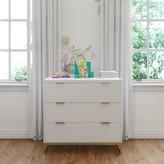 Isa Belle Rhead 3 Drawer Dresser Isabelle & Max Color: White