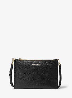 MICHAEL Michael Kors Large Pebbled Leather Double-Pouch Crossbody