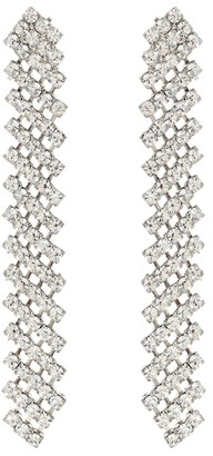 Jennifer Behr Pixie crystal-embellished earrings