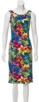 Karen Millen Sleeveless Floral Print Dress
