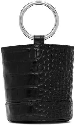 Simon Miller Black Croc Bonsai 15 Bag