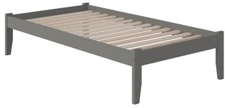 Atlantic Furniture Concord Platform Bed with Open Foot Board, Multiple Colors, Multiple Sizes