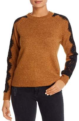 Vero Moda Merla Lace-Sleeve Sweater