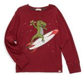 Appaman Toddler's, Little Boy's & Boy's Rex Rocket Long-Sleeve Cotton Tee