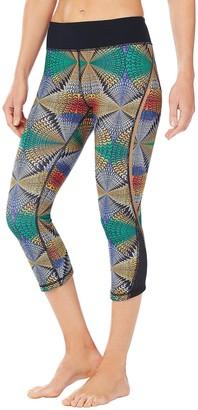 Shape Fx Women's Mesh Inset Crop Pant