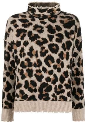 Zadig & Voltaire Zadig&Voltaire leopard knit jumper