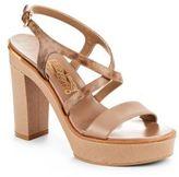 Salvatore Ferragamo Leather Ankle-Strap Sandals