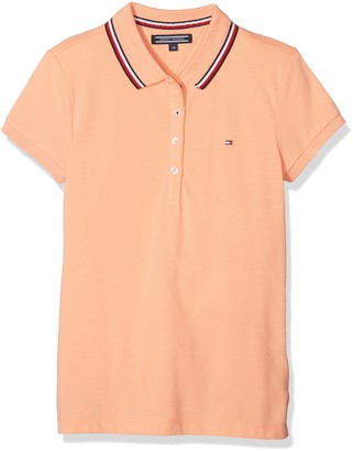 Tommy Hilfiger Girl's AME Sweet Polo S/s Shirt