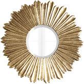 Horchow Soliel Large Gold Mirror