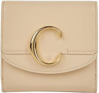 Chloé Leather C Flap Wallet