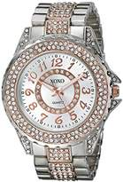 XOXO Women's XO5740 Analog Display Analog Quartz Silver Watch