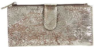 Patricia Nash Nazari - Bifold Zip Wallet (Chocolate Metallic) Wallet Handbags