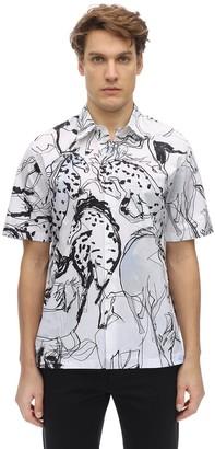 Stella McCartney All Over Print Cotton Shirt