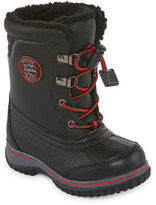 totes Jaymee Boys Water Resistant Winter Boots - Toddler