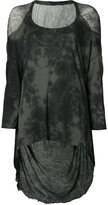 Raquel Allegra long cocoon blouse